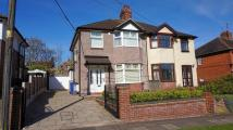 semi detached house in Chell Green Avenue...