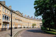 new development in Somerset Place, Bath...