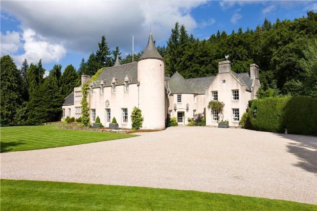 12 bedroom house for sale in candacraig house, strathdon