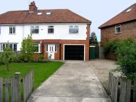 Huntington Road semi detached house for sale