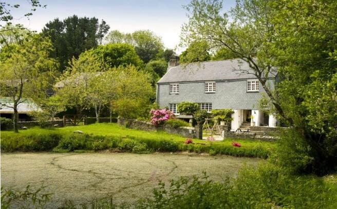 House & Pond