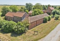 Detached house for sale in West Fen Farm...