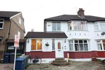Alverstone Avenue semi detached house for sale