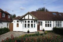 Semi-Detached Bungalow in Hereford Avenue...