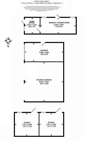 Annexe floor plan