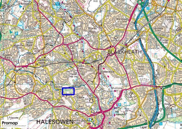 Land for sale in Hayseech Road Halesowen B63