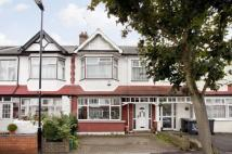 Terraced house in Sandringham Road...
