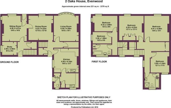 2 Oaks House Plan