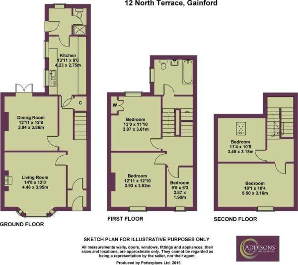 12 North Terrace FLOORPLAN