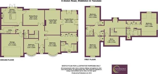 8 Alston Road Plan