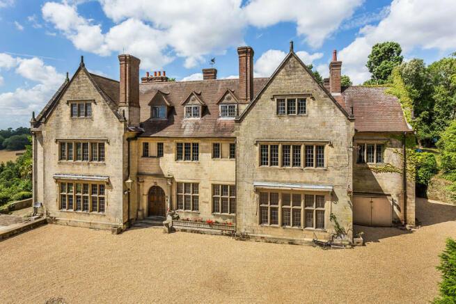 10 bedroom detached house for sale in Kent Hatch Road, Crockham ...