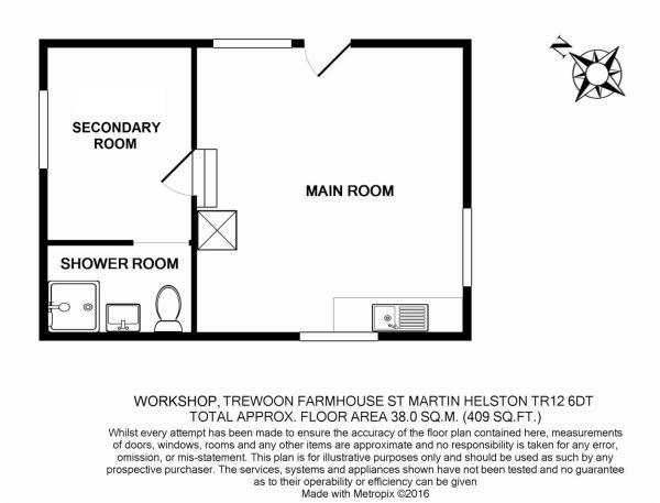 Workshop floor plan.