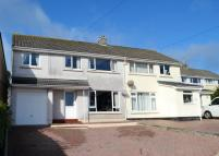 4 bedroom semi detached home for sale in Mongleath Road, Falmouth...