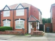 semi detached house in Downham Cres, Prestwich...