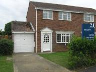 3 bedroom semi detached home in Swift Close...