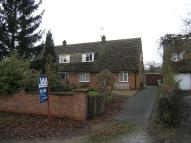 3 bed semi detached house in Balk Road, Ryhall, Lincs...