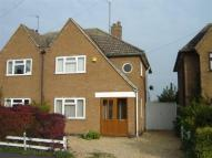 3 bed semi detached property in Hambleton Road, Stamford...
