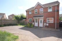 2 bed semi detached house in Bryony Way...