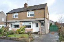 Gordon Crescent semi detached house for sale