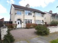 semi detached house to rent in Elgar Avenue, Wirral...