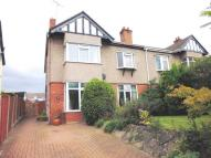 semi detached property in Higher Bebington Road...