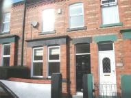 Terraced house in Trafalgar Drive...