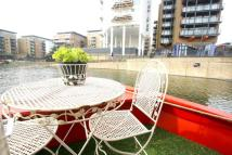 House Boat in Limehouse Basin Marina...