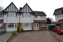5 bedroom semi detached property in Green Avenue, Hall Green...