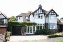3 bed semi detached home in Green Road, Moseley...