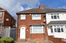 3 bedroom semi detached house in Broad Lane, Kings Heath...