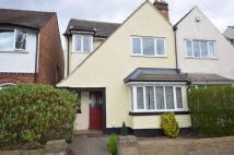 semi detached property for sale in Woodthorpe Road...