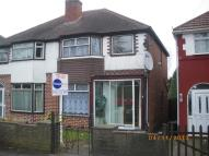 3 bed semi detached house in Turnberry Road...