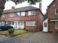 3 bed semi detached property in Hathersage Road...
