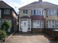 semi detached property in Crantock Road...