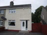 semi detached home to rent in CROE PLACE, Kilmarnock...