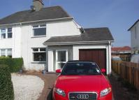 semi detached property in Dundonald Road, Troon...