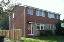Gowy Close semi detached house to rent