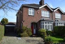 3 bed semi detached property in Sandbach Road North...