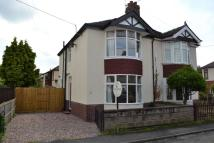 2 bedroom semi detached property for sale in Wesley Avenue, Alsager
