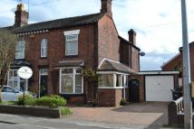 semi detached house in Crewe Road, Alsager