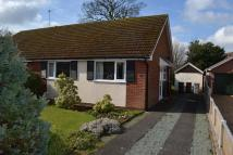 2 bed Semi-Detached Bungalow in Arrowsmith Drive, Alsager