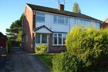 3 bedroom semi detached home in College Road, Alsager