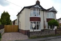 2 bed semi detached house in Wesley Avenue, Alsager