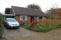 Detached Bungalow in Cromer Road, Holt