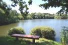 lake & bench ...