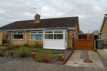 Semi-Detached Bungalow in Partridge Road, Aylsham...