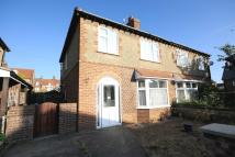 3 bedroom semi detached house in Garden Road, Sheringham...
