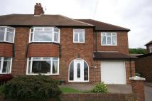 4 bed semi detached property in Cleadon Hill Road...