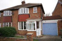 3 bedroom semi detached home for sale in Lunedale Avenue...