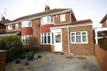 semi detached house in Druridge Avenue, Seaburn